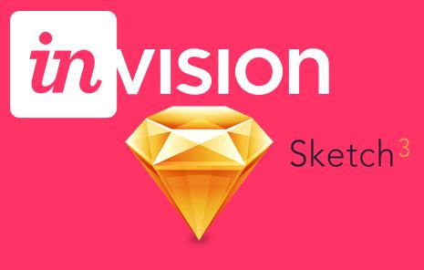 Sketch3 & InvisionApp
